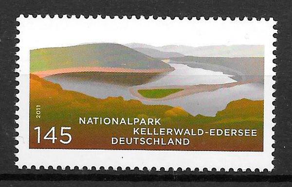 sellos parques naturales Alemania 2011