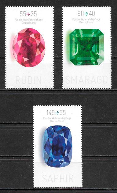 sellos temas varios Alemania 2012