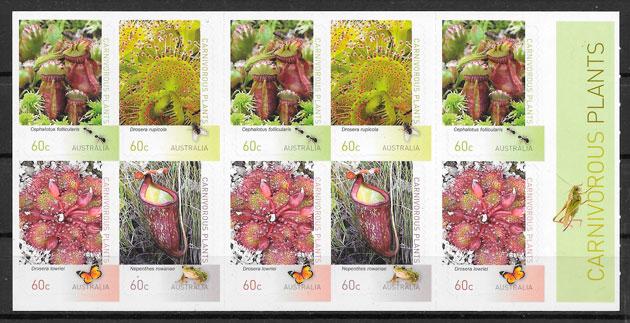 sellos flora Australia 2013