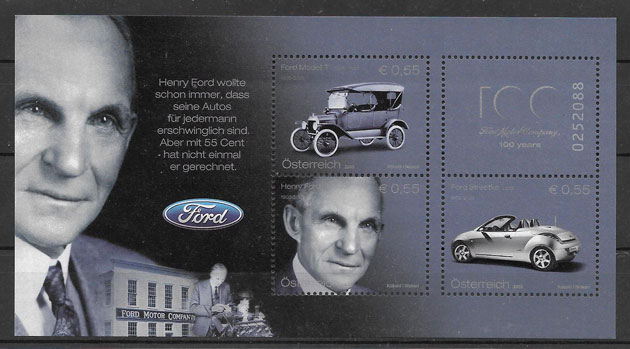 sellos transporte Austria 2003