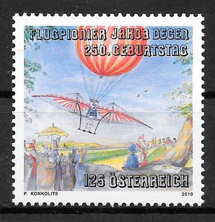 sellos Austria 2010 transporte