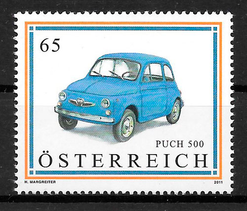 sellos transporte Austria 2011