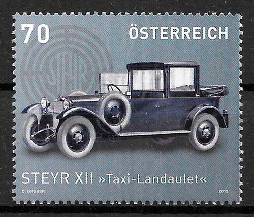 filatelia transporte Austria 2012