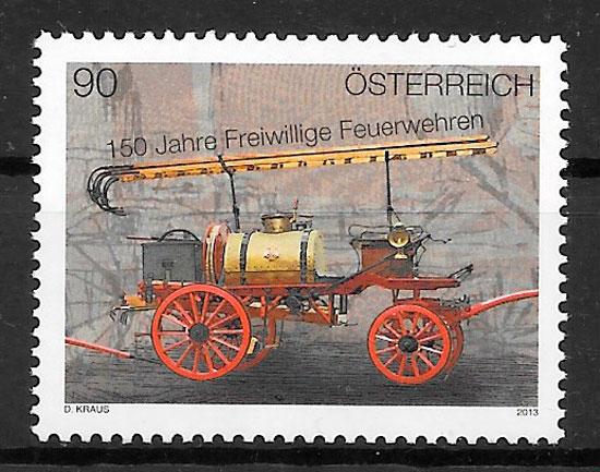 sellos Austria transporte 2013