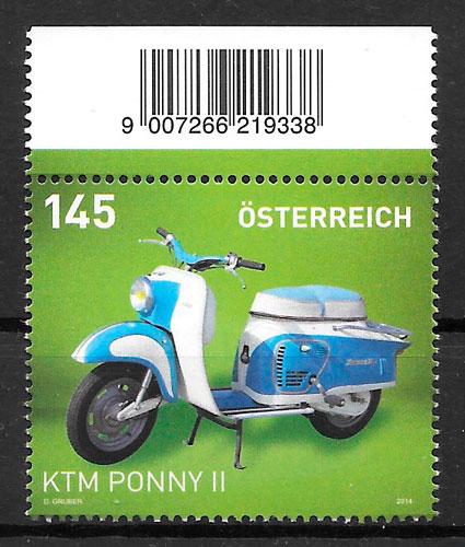 filatelia transporte Austria 2013