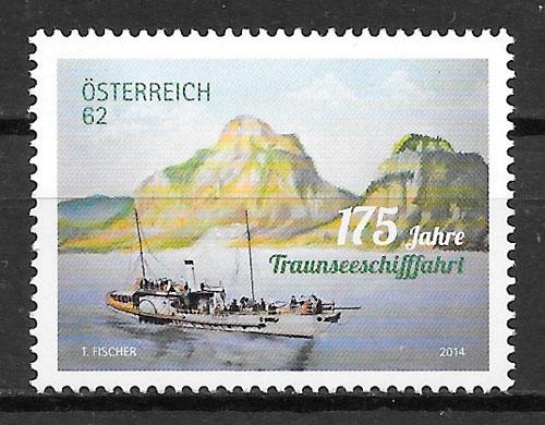 filatelia transporte Austria 2014