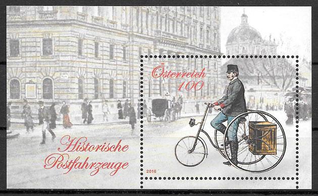 sellos transporte Austria 2016