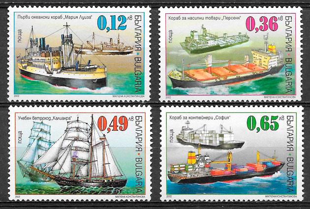 sellos transporte Bulgaria 2003