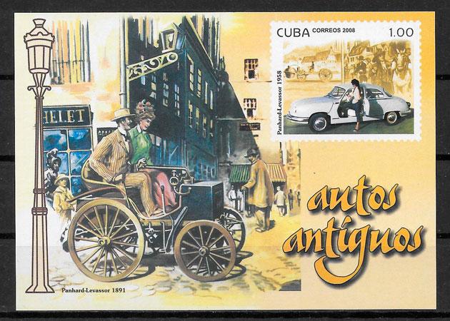 sellos transporte Cuba 2008