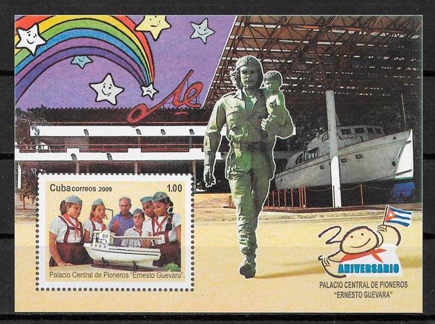 sellos personalidades Cuba 2009