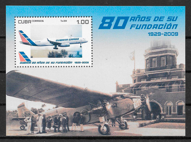 sellos transporte 2009 Cuba
