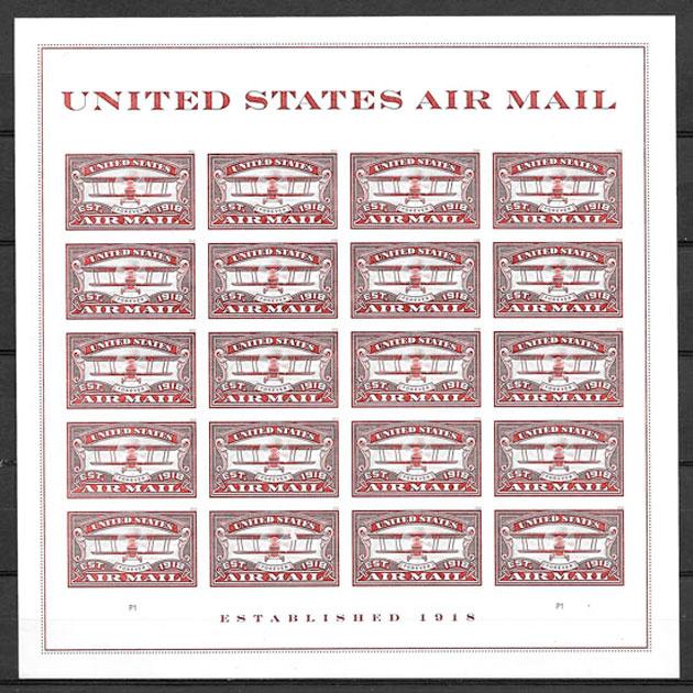 sellos transporte USA 2018