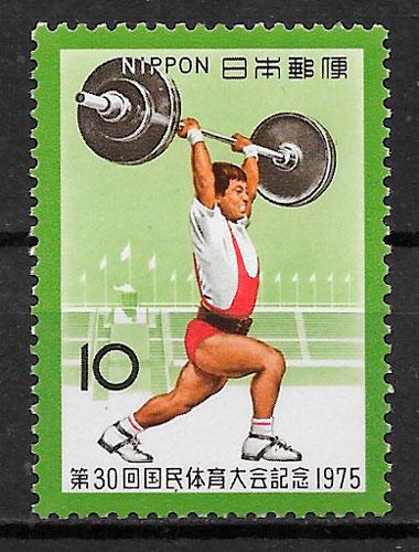 sellos deporte Japón 1972