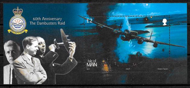 sellos transporte Isla de ,Man 2003