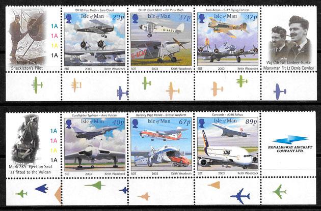 selos transporte Isla de Man 2003