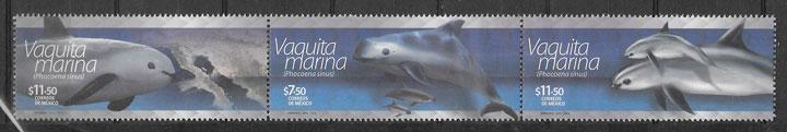 filatelia colección fauna mexico 2015