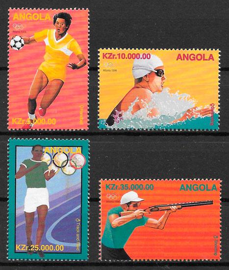selos olimpiadas Angola 1996