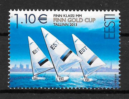 sellos deporte Estonia 2013