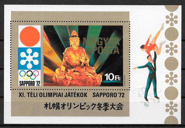 sellos deporte Hungría 1971