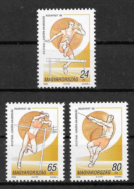 sellos deporte Hungría 1998