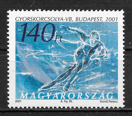 sellos deporte Hungría 2000