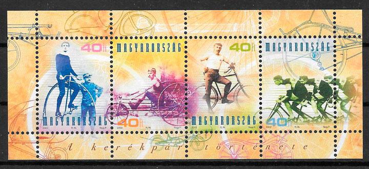 sellos transporte Hungría 2002