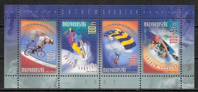 sellos deporte Hungría 2003