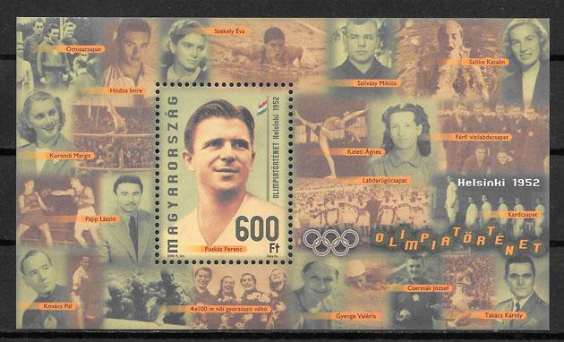 sellos futbol Hungria 2008