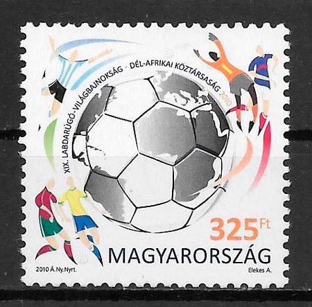 sellos futbol Hungria 2010