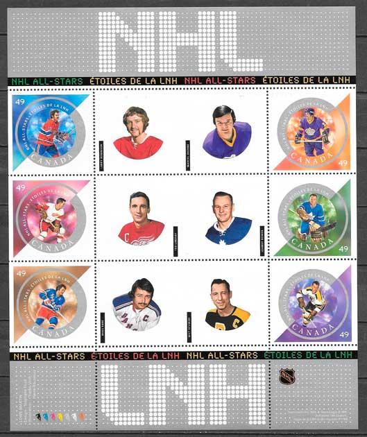 sellos deporte Canada 2004