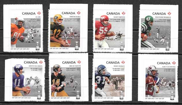 sellos deporte Canada 2012