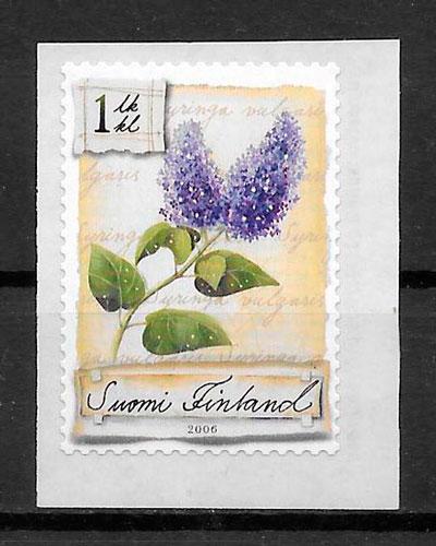 filatelia flora Finlandia 2006