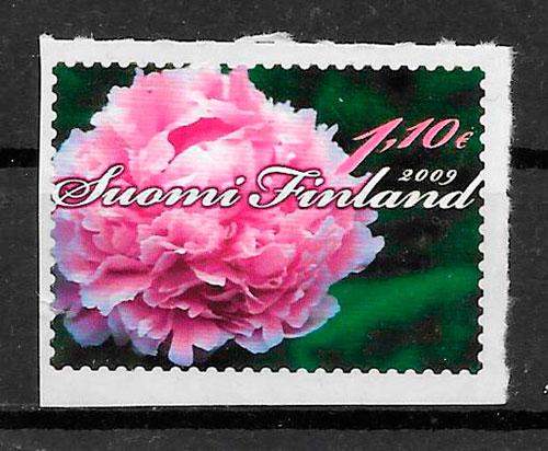filatelia flora Finlandia 2009