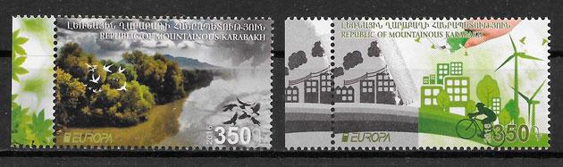 filatelia Europa Haut Karaback 2016