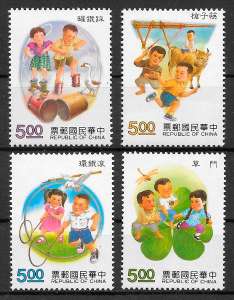 filatelia temas varios Formosa 1992