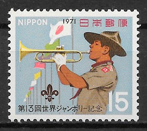 filatelia temas varios Japón 1971