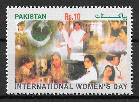 sellos temas varios PAKISTÁN 2007