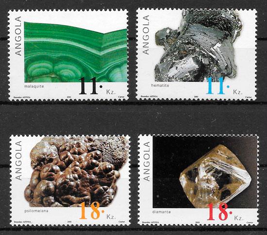selos minerales Angola 2001