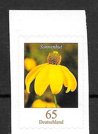 colección sellos flora Alemania 2009