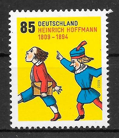 filatelia cuentos Alemania 2009