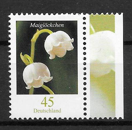 sellos flora Alemania 2010