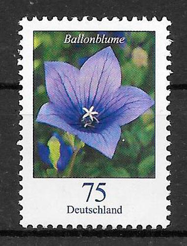 colección selos flora Alemania 2010