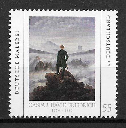 sellos pinturas Alemania 2011