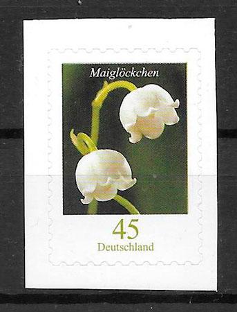 filatelia colección flora Alemania 2011