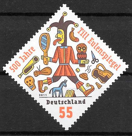 filatelia cuentos Alemania 2011