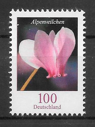 colección sellos flora Alemania 2018