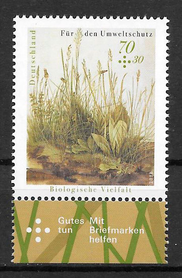 filatelia flora Alemania 2018