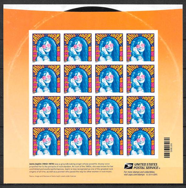 sellos arte USA 2014