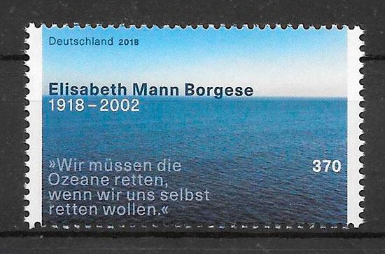 sellos personalidad Alemania 2018