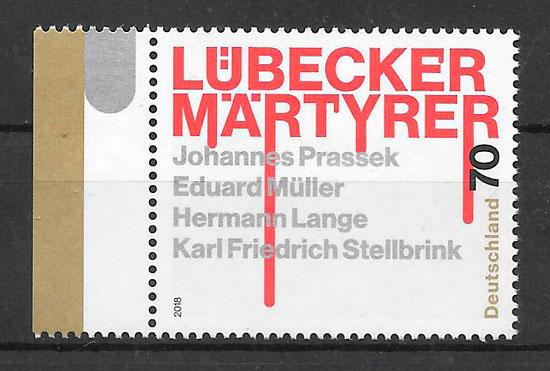 sellos temas varios Alemania 2018